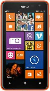 Nokia-Lumia-625-Windows-Smartphone-4-7-Zoll-11-9-cm-Display-8GB-Speicher-orange