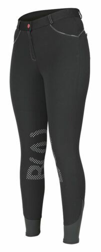 BRIDLEWAY LADIES MENDIP BREECHES BLACK, NAVY BLUE, BEIGE, WHITE UK 818