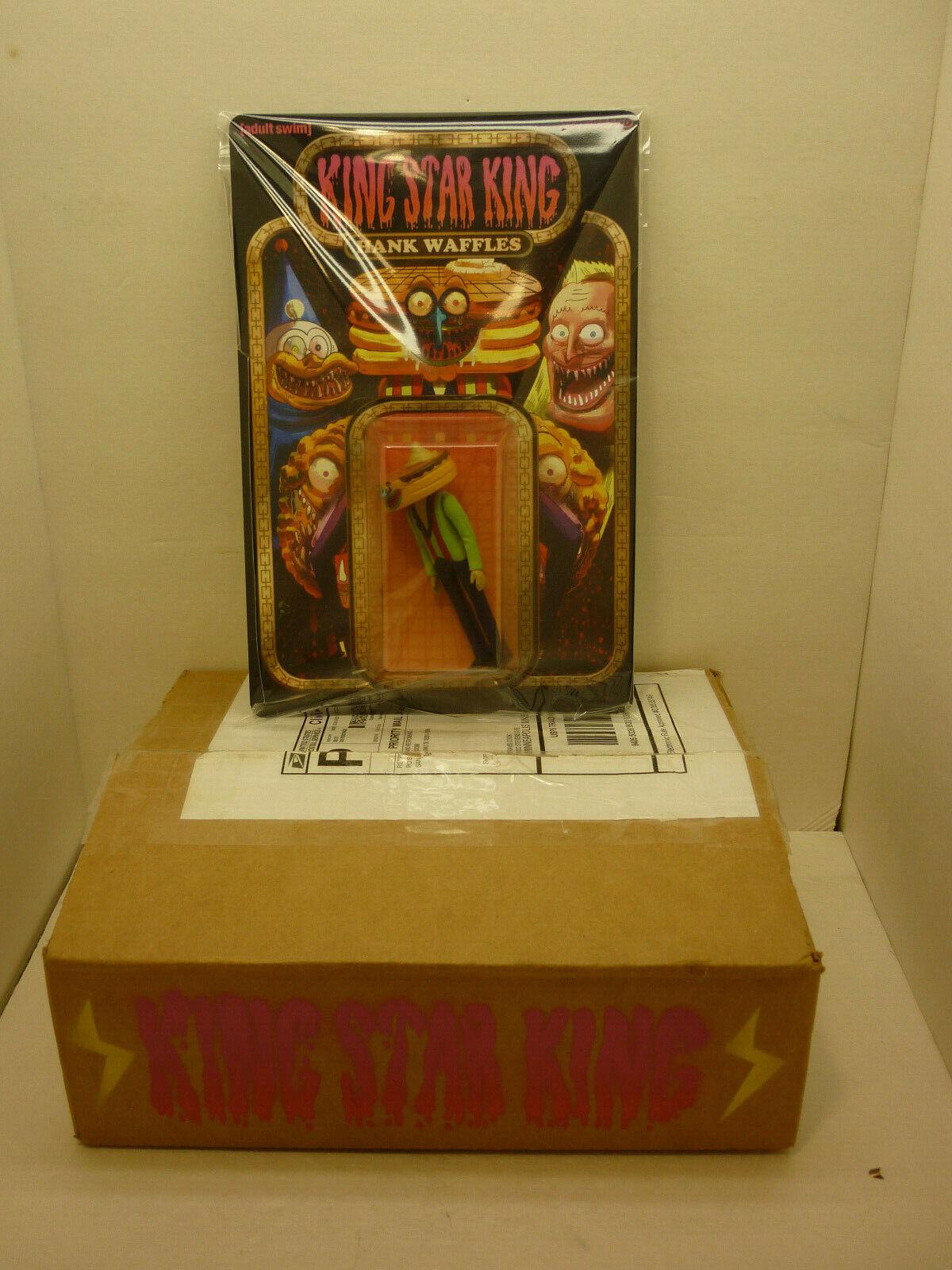 Retroband KING KING KING STAR KING Hank Waffles Action Figure Adult Swim DCON ORIGINAL BOX aeeb6c