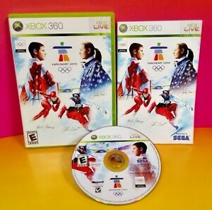 Vancouver-2010-Olympic-Winter-Games-XBOX-360-game-Rare-Complete
