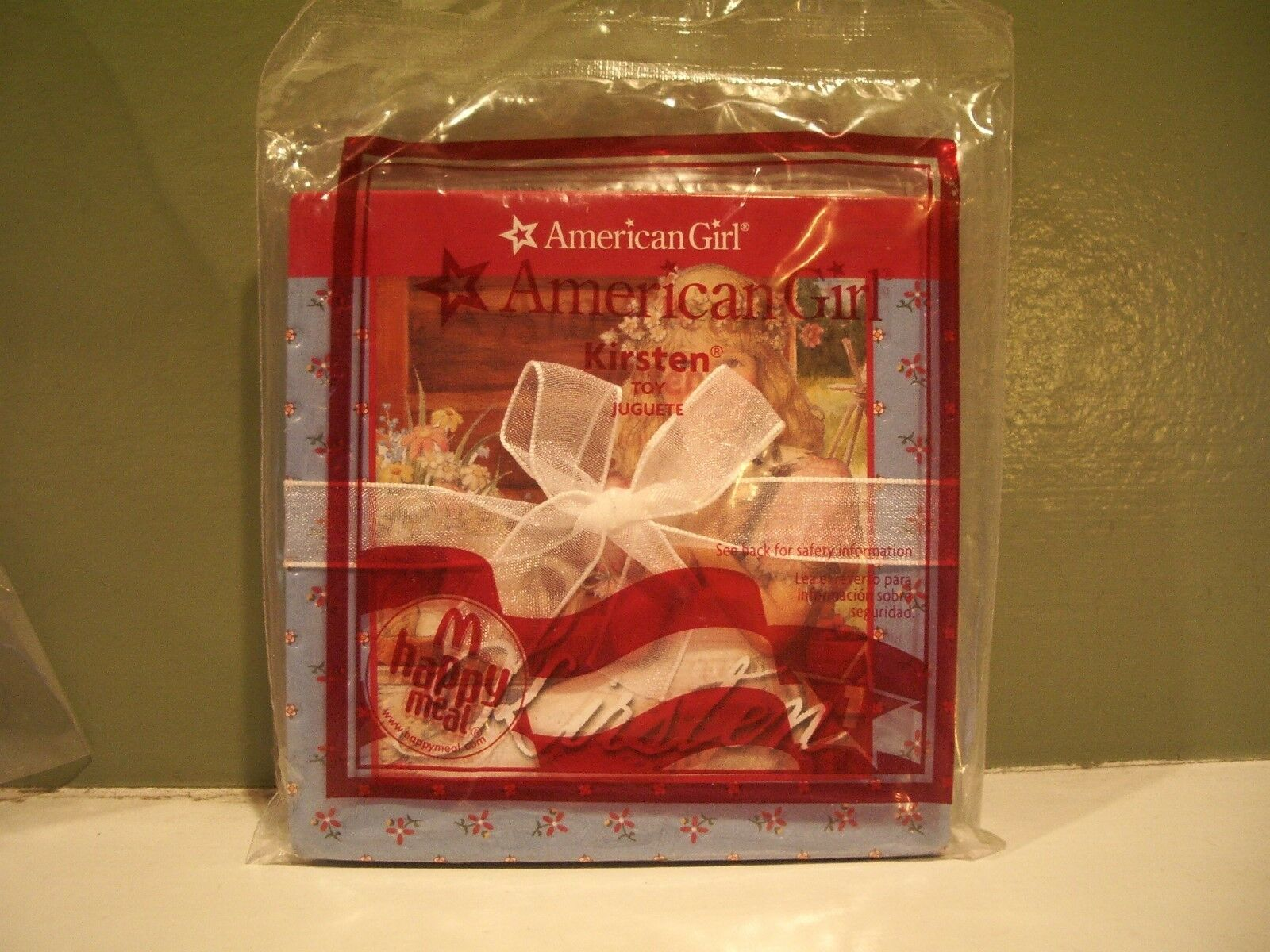 American Girl McDonald/'s happy meal book 2009 #1 Kirsten new in package