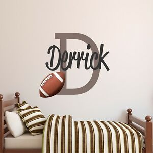 CUSTOM-NAME-VINYL-DECAL-WITH-REALISTIC-FOOTBALL-WALL-STICKER