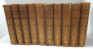 The-Children-s-Hour-Complete-Set-of-10-Houghton-Mifflin-1907-Eva-March-Tappan-HC
