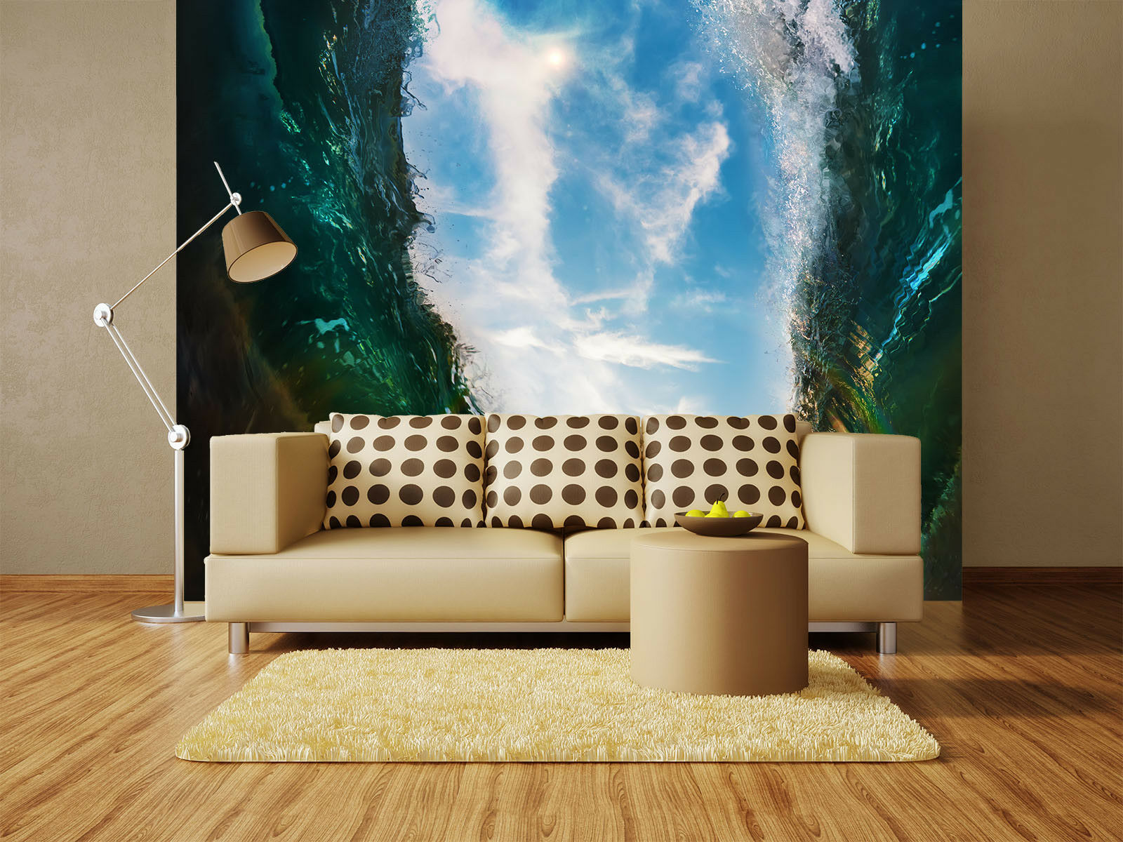 3D Sky Sun Sea Waves 7 Wall Paper Murals Wall Print Wall Wallpaper Mural AU Kyra