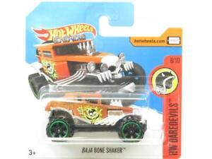 Hotwheels-Baja-Bone-Shaker-HW-Daredevils-91-365-Tarjeta-Corta-1-escala-64-Nuevo-Sellado