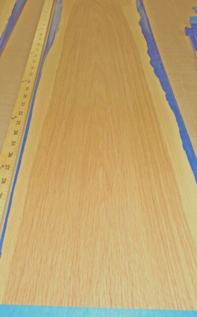 "White Oak wood veneer 11"" x 36"" raw no backing 1/42"" thickness ""A"" grade quality"