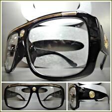 6bd1f671812 item 1 Mens CLASSIC RETRO HIP HOP RAPPER Style Clear Lens EYE GLASSES Thick  Black Frame -Mens CLASSIC RETRO HIP HOP RAPPER Style Clear Lens EYE GLASSES  ...