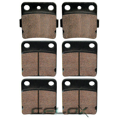 Front Brake Pads For Yamaha Warrior 350 YFM350 1989 1990 1991 1992 1993-2004