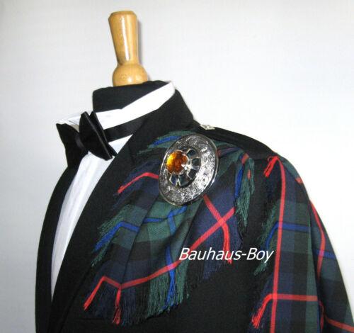 FLY PLAID TARTAN CAMPBELL OF CAWDOR MODERN FRINGED KILT MADE IN SCOTLAND MENS