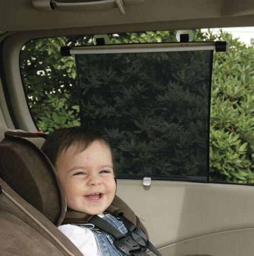 2 x Car Window Roller Blinds Sun Block Shades Baby Children Interior AC17x2