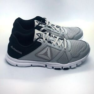 171d4192e5a Reebok Yourflex Train 10 MT Men s Running Shoes Skull Grey  Black ...