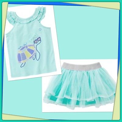 NWT Gymboree TIDE POOL Size 2T 3T 4T 5T Striped Dress /& Hair Clips