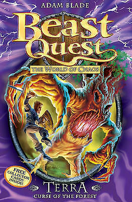Terra, Curse of the Forest (Beast Quest) by Adam Blade, Good Used Book (Paperbac