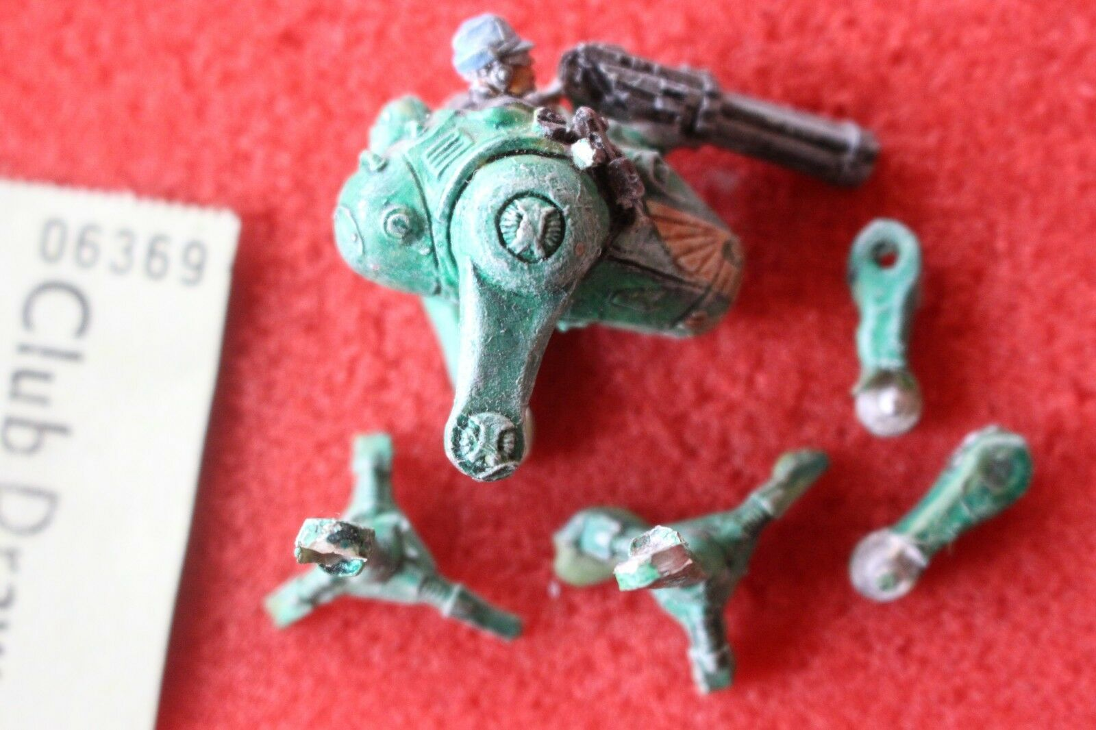 Games Workshop Warhammer 40k Sentinel Egg Walker Imperial Guards Rogue Trader B2