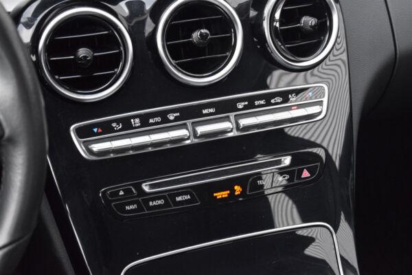 Mercedes C220 d 2,2 stc. aut. billede 10