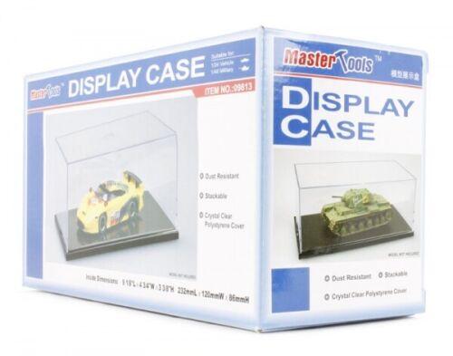 120 X 232 X 86 Mm Plastic Model Kit TRUMPETER Vetrina Per Auto 1//24 Misure