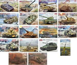 Amusing-Hobby-1-35-Tank-Military-Vehicles-WWII-New-Plastic-Model-Kit-1-35