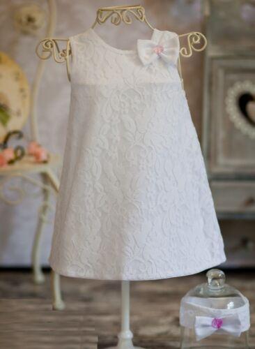 Nr.0KN4 Taufkleid Festkleid Taufgewand Kleid Taufe Hochzeit Babykleid
