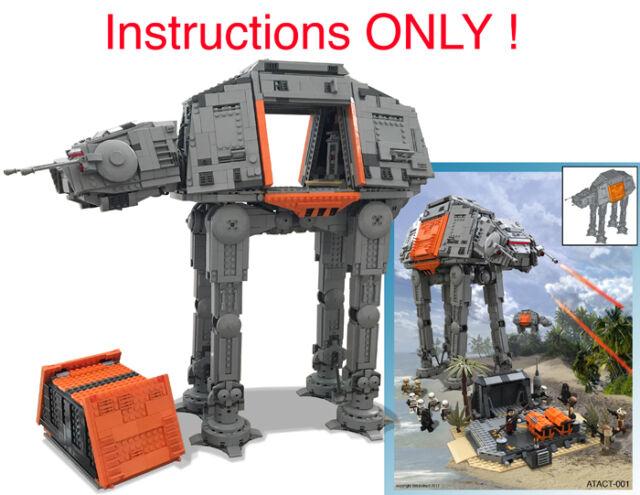 Custom Star Wars Empire Hoth At At Imperial Walker Lego