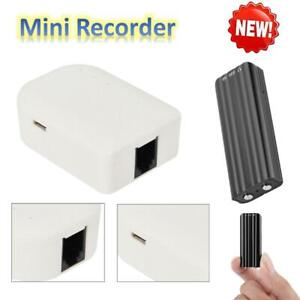 Portable-Home-Telephone-Recorder-Box-Covert-Dircet-Landline-Audio-Voice-Recorder