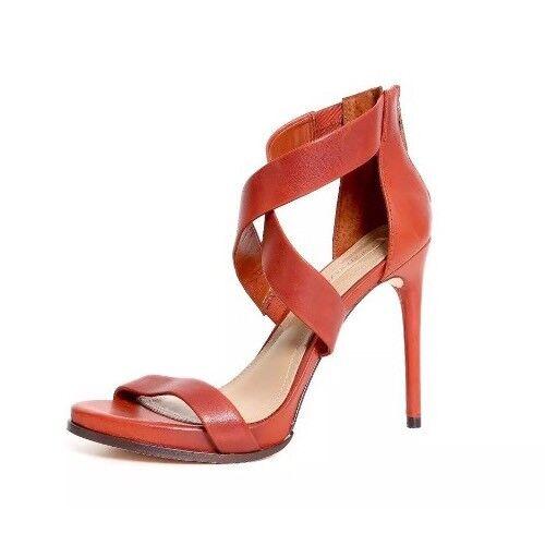 BCBGMAXAZRIA Donna  rosso rosso rosso Ankle Strap Rear Zipper Heel 2215 Dimensione 8.5M aea2c5