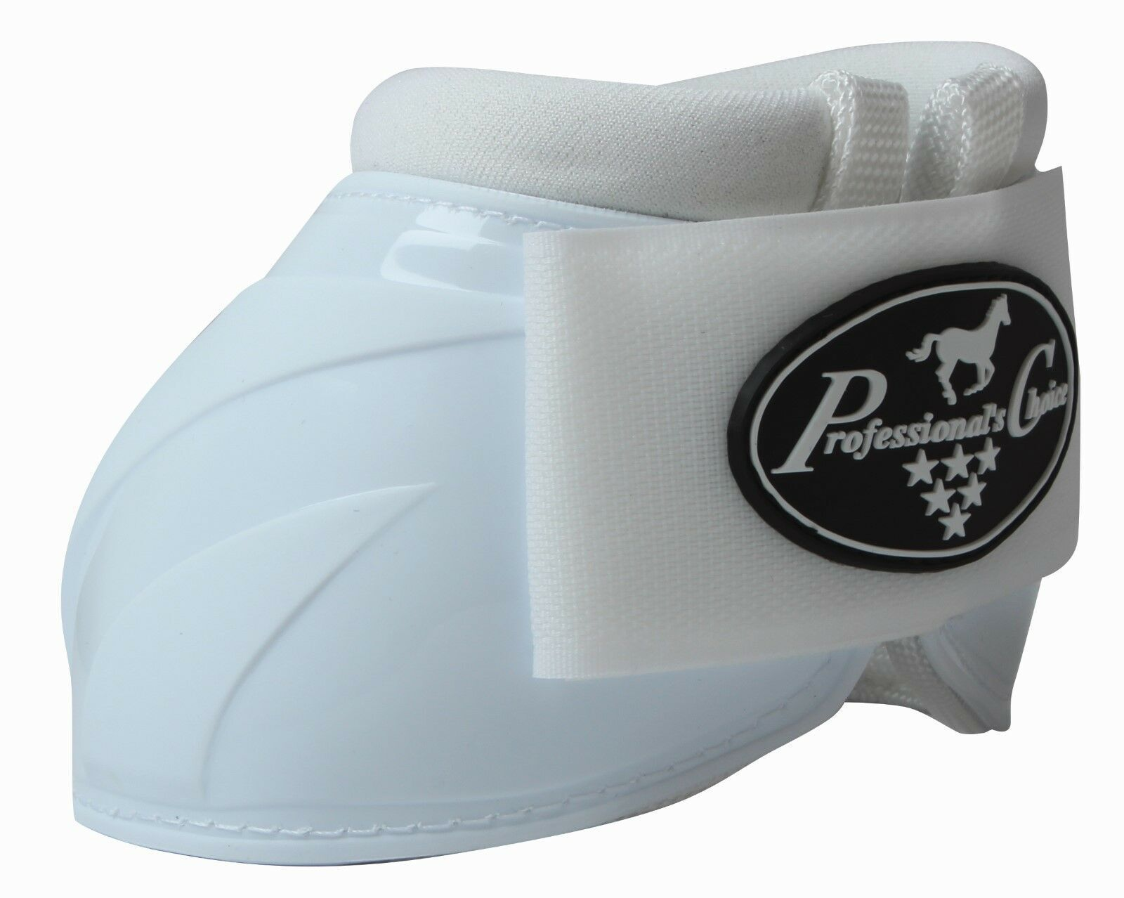 NEW Professional's Choice Spartan II Overreach Bell Boots White M Pro Prof