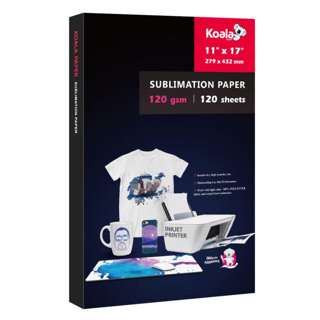 Forever SUBLIFLEX 202 Sublimation Paper for COTTON DARK T Shirts 10 Sh 8.5x11