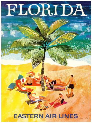 A3 SIZE Vintage Retro Travel /& Railways Poster Print #3 FLORIDA
