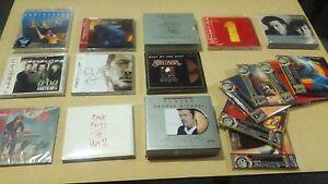 Lote de Pop Rock Cd SACD Dvd audio Blu Spec DTS oro muchos