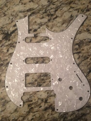 New Old Stock Parker Fly Guitar Pick Guard white Pearloid 2s1h 3 hole