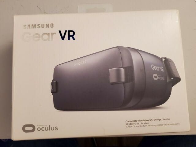 Black USB-C Samsung Gear VR 2 Oculus Virtual Reality Headset 2016 SM-R323 Blue