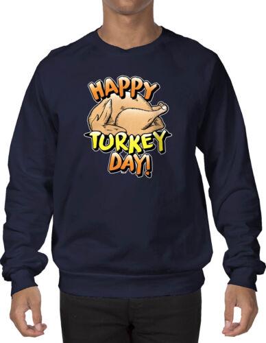 Happy Turkey Day Thanksgiving Crewneck Sweatshirt