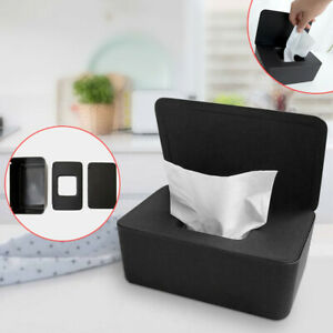 Tissue-Storage-Box-Paper-Plastic-Case-Holder-Organizer-Napkin-Home-Car-Office-AU