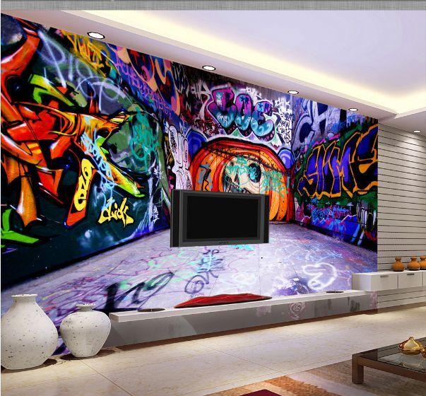 3D Einzigartige Graffiti 88 Fototapeten Wandbild Fototapete BildTapete FamilieDE