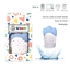 thumbnail 7 - 4Teeth Baby Teething Mitten Premium Soft Silicone Toy in Gift Box BLUE,PINK