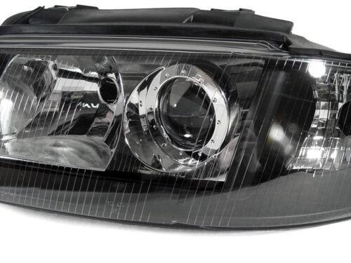 DEPO Xenon D2S Black Housing Xenon Headlights For 99-01 Audi A4 00-02 S4 B5
