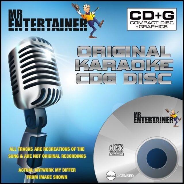 Sept 2015 Cdg Cd+g Mrh133 Karaoke Entertainment Karaoke Cdgs, Dvds & Media Mr Entertainer Karaoke Chart Hits Vol 133 18 Tracks