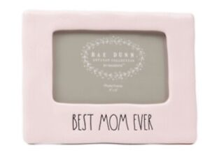 """Rae Dunn """"BEST MOM EVER"""" Picture Frame"""