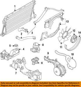 ford oem 11 16 f 350 super duty radiator coolant lower hose rh ebay com Ford Ranger 4.0 Engine Diagram Ford Ranger 4.0 Engine Diagram