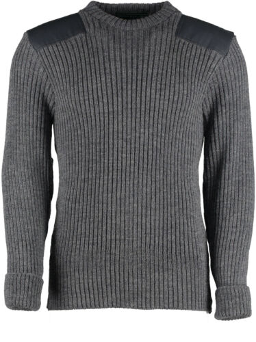 WOOL NATO // ARMY JUMPER WOOLLY PULLY OUTDOOR,UNIFORM,SECURITY,MILITARY #09024