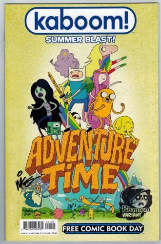 SET KABOOM SUMMER BLAST Mike Kunkel Adventure Time  2013 FCBD PHANTOM SIGNED