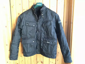 Barbour-Jacket-Youth-XXL-14-15-Years-Black