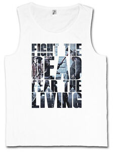 FIGHT-THE-DEAD-FEAR-THE-LIVING-III-TANK-TOP-GYM-VEST-The-Walking-TV-Dead