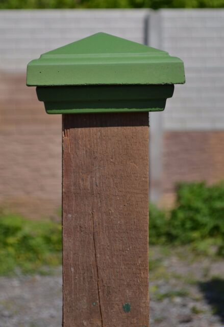 PLASTIC MOLDS for POST CAP FENCE 4″x4″ CONCRETE COVER PILLAR  COPING STONE #P05