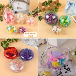 5Pcs-Round-Clear-Egg-Ball-Bath-Bomb-Mould-Wedding-Hanging-Decor-Ornament-Craft