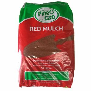 Pinegro-50L-Red-Mulch-Yard-Garden-Outdoor-Living-Plant-Care-Gardening-Supplies