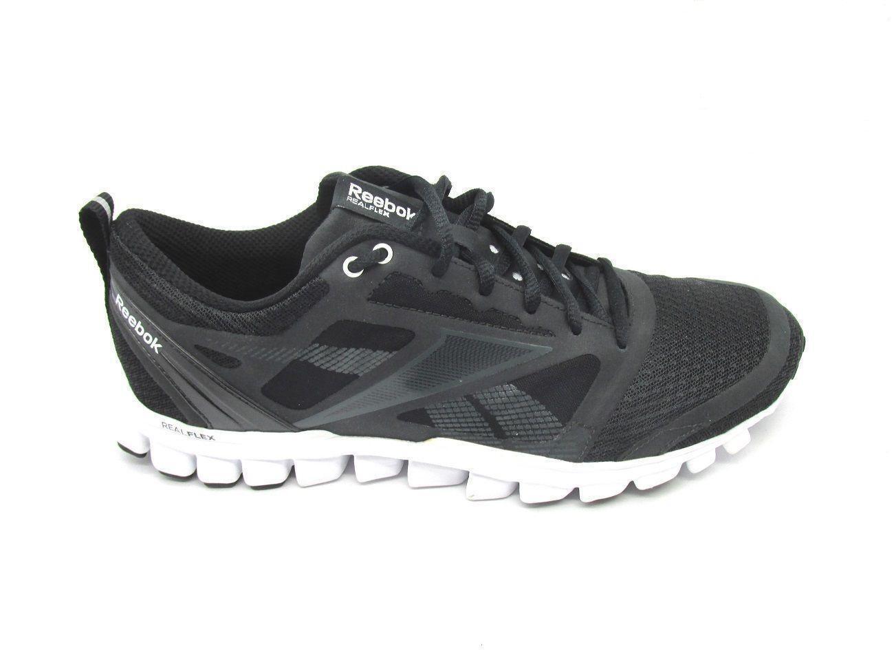 Nuovo REEBBOK REALFLEX  SPEED nero Running Trainers J90564  più economico