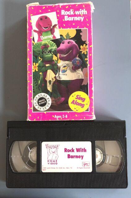 Barney - Rock With Barney (VHS, 1992) for sale online | eBay