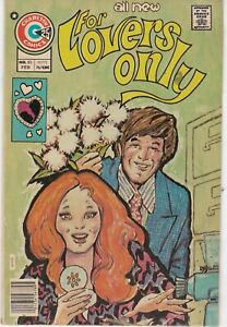 For Lovers Only #83 1976 Bronze Age Charlton Romance Comic