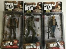 the Walking Dead TV Figures Series 9 McFarlane ALL 6 NEW FIGURES MOMC!!